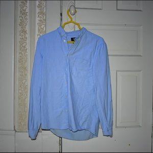 H&M Plain Blue Button Down